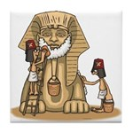 Shriners at work Tile Coaster