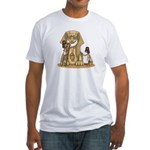 Shriners at work Fitted T-Shirt