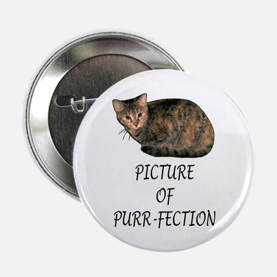 "Picture of Purr-fection 2.25"" Button"