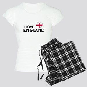 I Love England Women's Light Pajamas