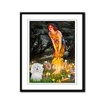 Midsummer's Eve Coton Framed Panel Print