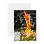 Midsummer's Eve Coton Greeting Card