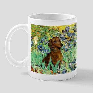 Irises & Dachshund Mug