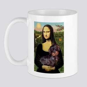 Mona / Dachshund (wire) Mug