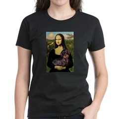 Mona / Dachshund (wire) Women's Dark T-Shirt