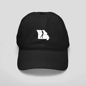 Missouri Gymnastics Shirts Gy Black Cap with Patch
