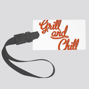 Grill and Chill Large Luggage Tag