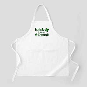 Irish I were Drunk BBQ Apron