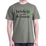 Irish I were Drunk Dark T-Shirt
