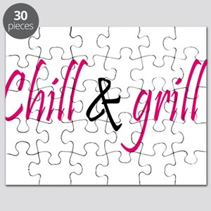 chill and grill Puzzle
