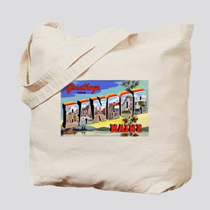 Bangor Maine Greetings Tote Bag