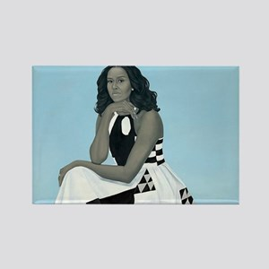 Michelle Obama Official Portrait Magnets