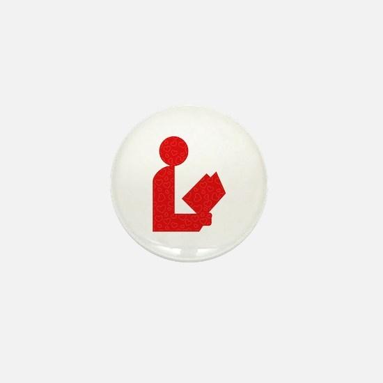 Library Love Logo Mini Button