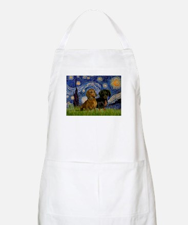 Starry Night Doxie Pair A
