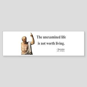 Socrates 1 Bumper Sticker