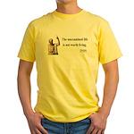 Socrates 1 Yellow T-Shirt