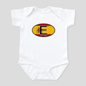 Spain Colors Oval Infant Bodysuit