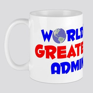 World's Greatest Admin (A) Mug