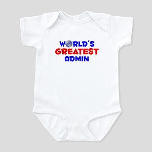 World's Greatest Admin (A) Infant Bodysuit