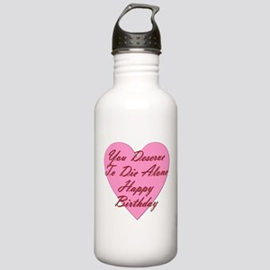 You Deserve To Die Alo Stainless Water Bottle 1.0L