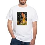 Fairies / Dachshund White T-Shirt