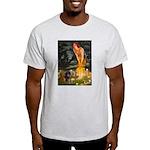 Fairies / Dachshund Light T-Shirt