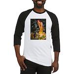 Fairies / Dachshund Baseball Jersey
