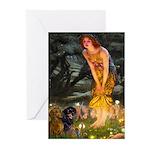 Fairies / Dachshund Greeting Cards (Pk of 10)