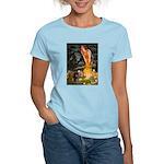 Fairies / Dachshund Women's Light T-Shirt