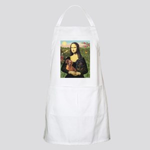 Mona Lisa's Dachshunds Apron