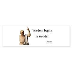 Socrates 2 Bumper Bumper Sticker