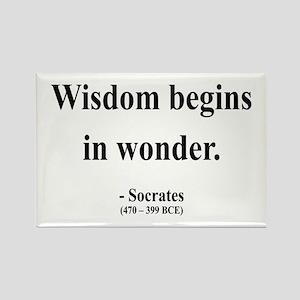 Socrates 2 Rectangle Magnet