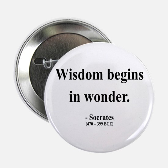"Socrates 2 2.25"" Button"