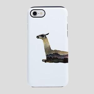 Llama Double Exposure iPhone 8/7 Tough Case