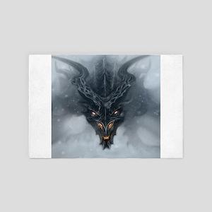 Evil Dragon 4' x 6' Rug