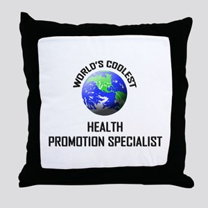 World's Coolest HEALTH PROMOTION SPECIALIST Throw