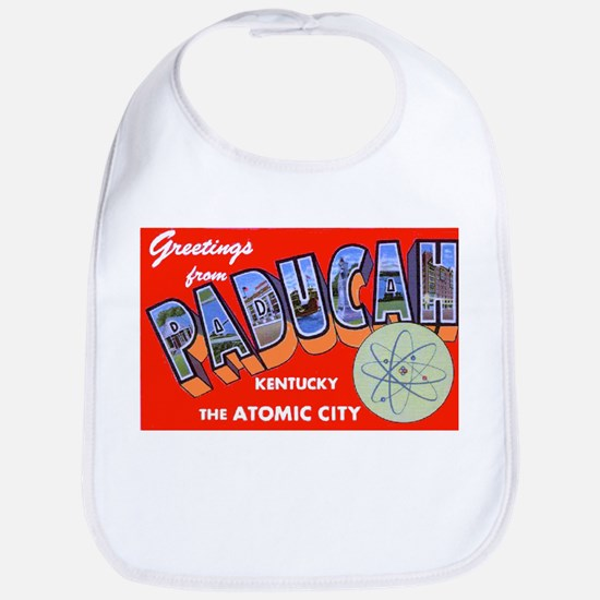 Paducah Kentucky Greetings Bib