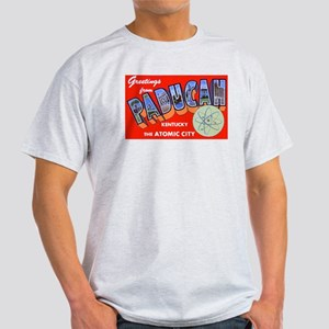 Paducah Kentucky Greetings (Front) Light T-Shirt
