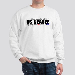 Red, white & blue Seabee Gran Sweatshirt