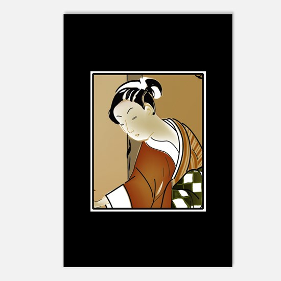 Geisha; Woman of the arts Postcards (Package of 8)