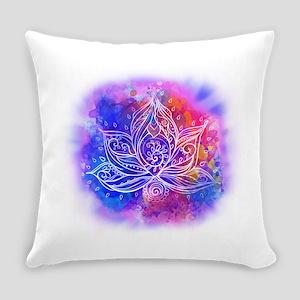 Lotus Energy Everyday Pillow