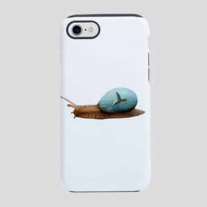 Snail Double Exposure iPhone 8/7 Tough Case