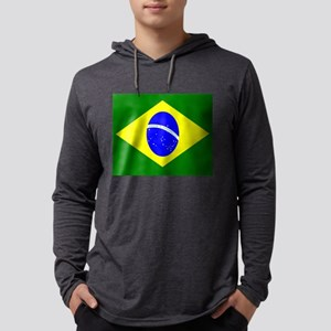 Flag of Brazil Long Sleeve T-Shirt
