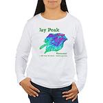 Jay Peak Resort Women's Long Sleeve T-Shirt