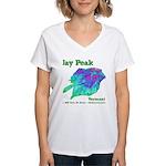 Jay Peak Resort Women's V-Neck T-Shirt