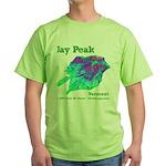 Jay Peak Resort Green T-Shirt