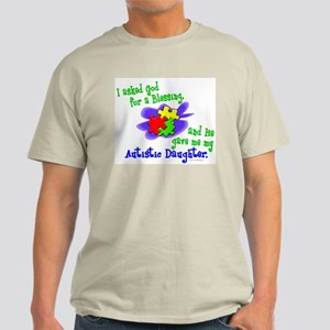 Blessing 2 (Autistic Daughter) Light T-Shirt