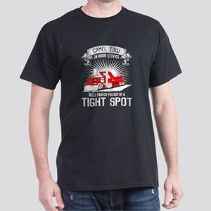 Camel Tow 24 Hour Service T Shirt, Tight S T-Shirt