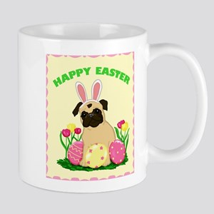 Easter Bunny Pug Mug