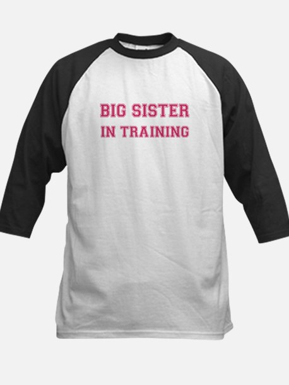 Big sister in training Kids Baseball Jersey
